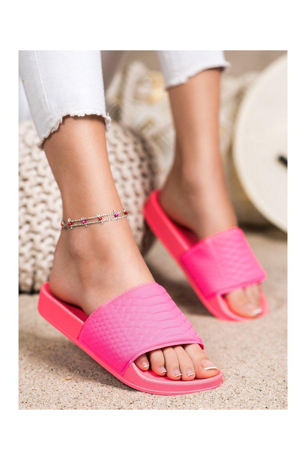 Ružové dámske šľapky Kayla kod 38859F