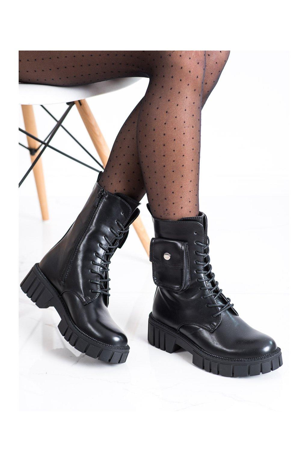 Čierne dámske topánky Seastar kod UK50B