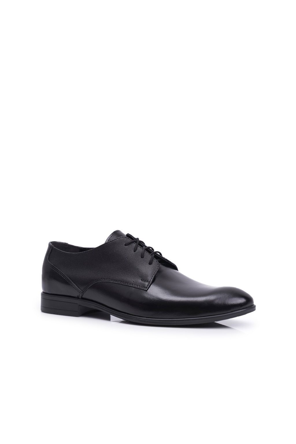 Pánske poltopánky farba čierna kód obuvi 801 TOSCA BLK