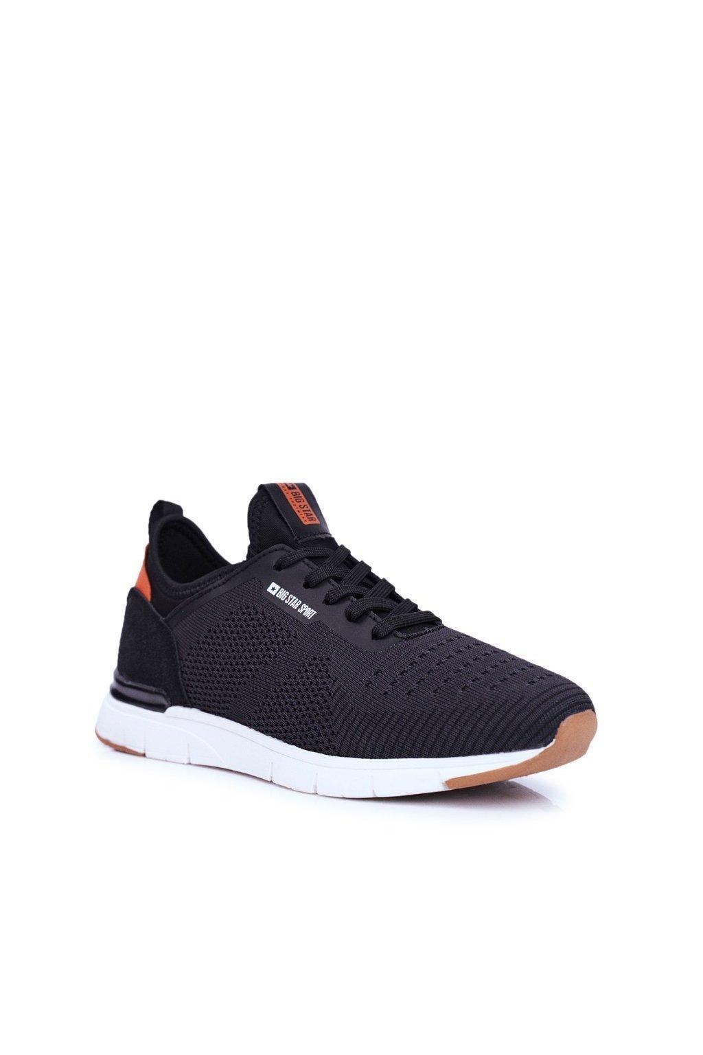 Čierna obuv kód topánok FF174163 BLK
