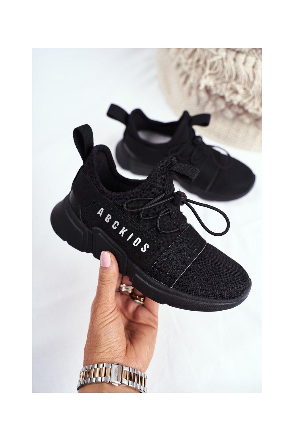 Detské tenisky farba čierna kód obuvi B012310074 BLK