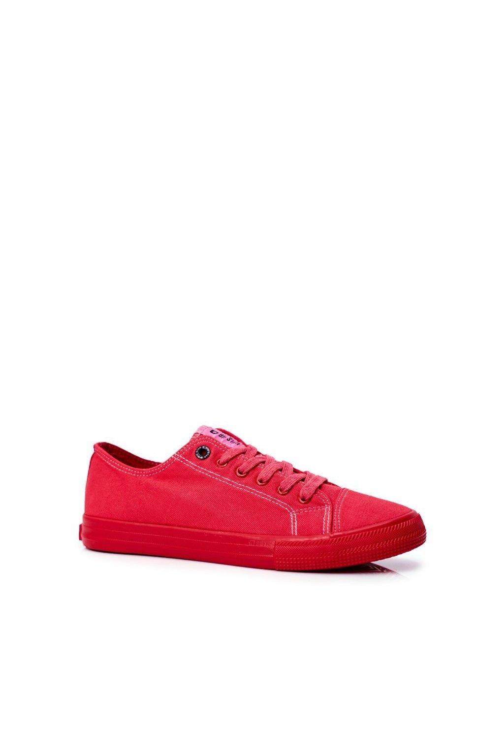 Červená obuv kód topánok FF174336 RED