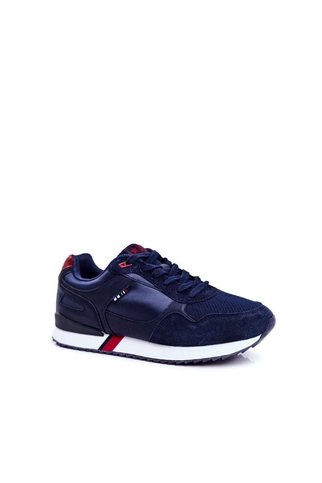 Modrá obuv kód topánok 20MN20-2151 NAVY