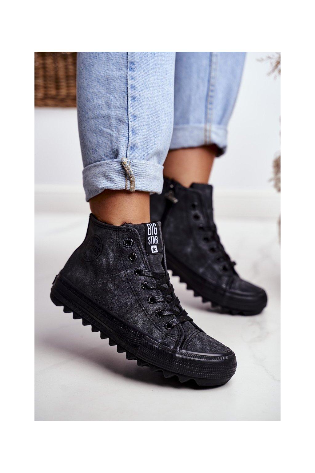 Dámske tenisky farba čierna kód obuvi GG274069 BLK