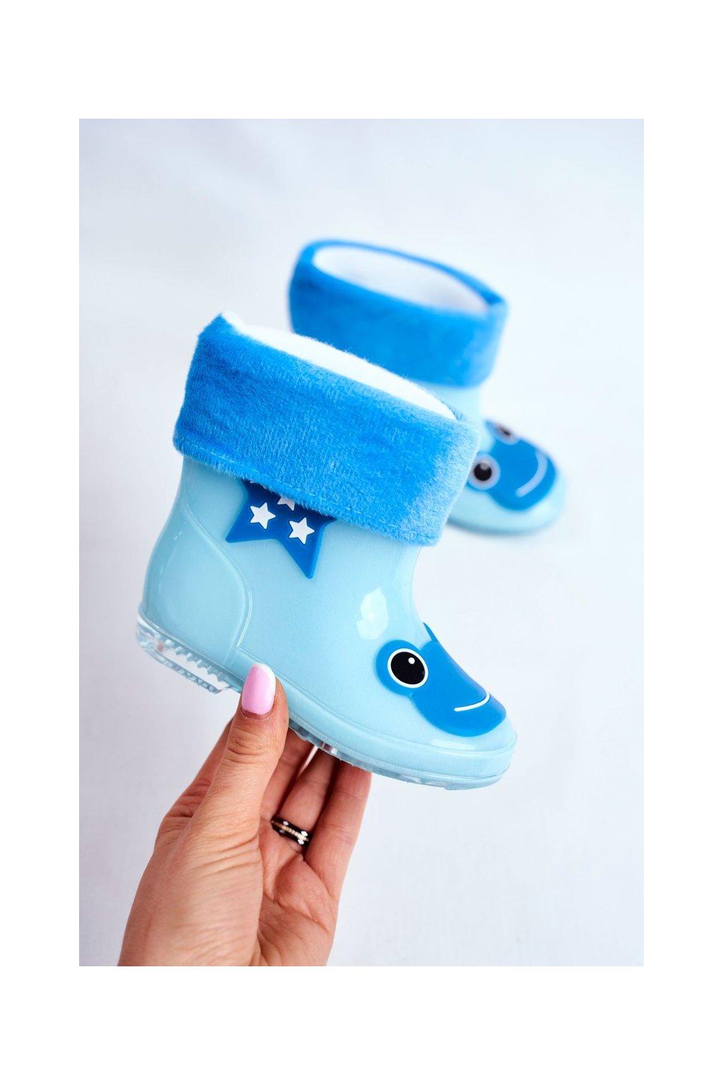 Modrá obuv kód topánok X1191 L.BLUE