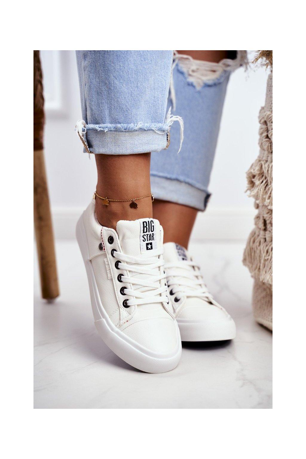 Dámske tenisky farba biela kód obuvi GG274060 WHITE