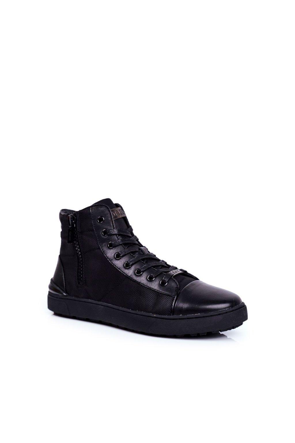 Čierna obuv kód topánok GG1N3019 BLK