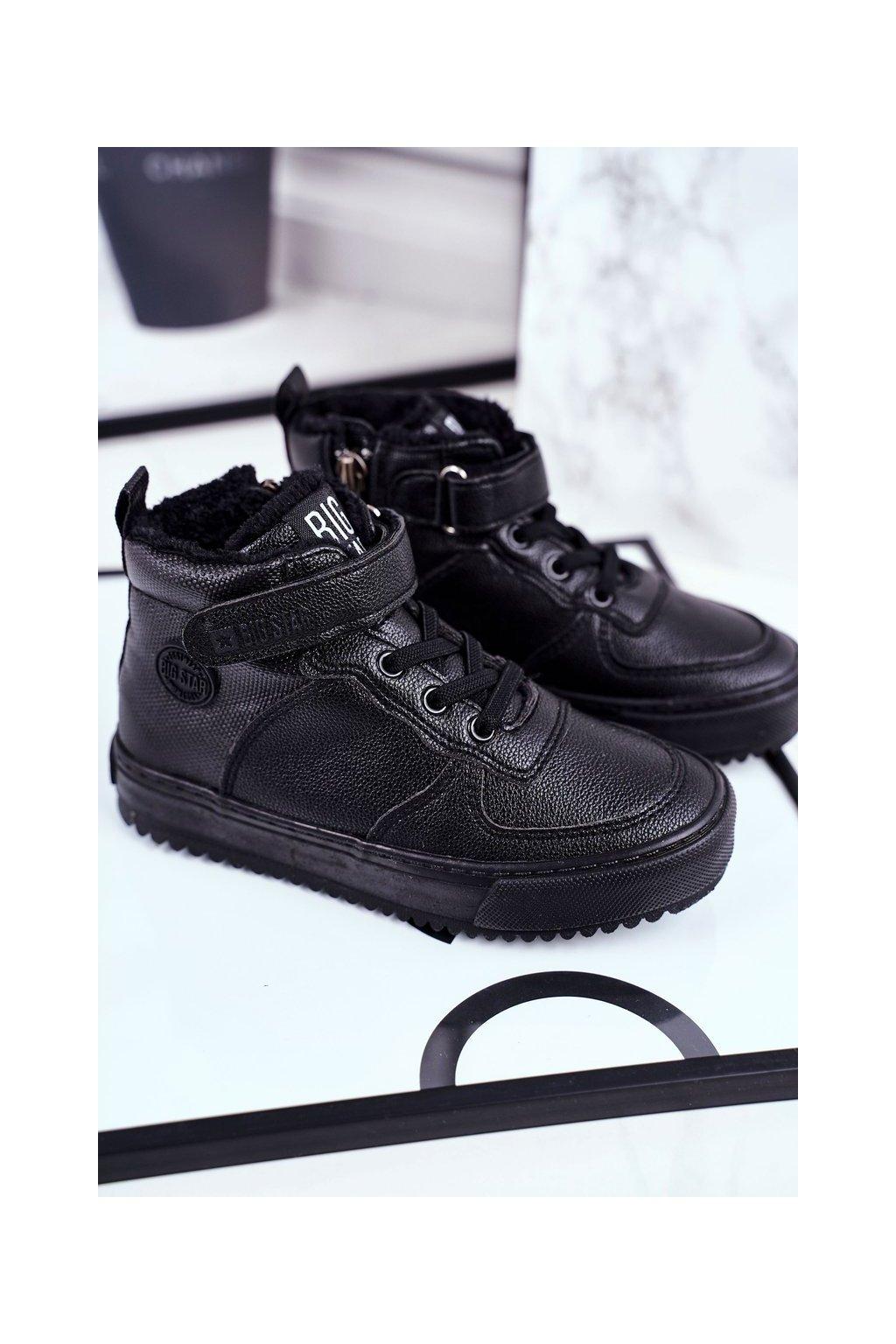 Detské tenisky farba čierna kód obuvi GG374040 BLK