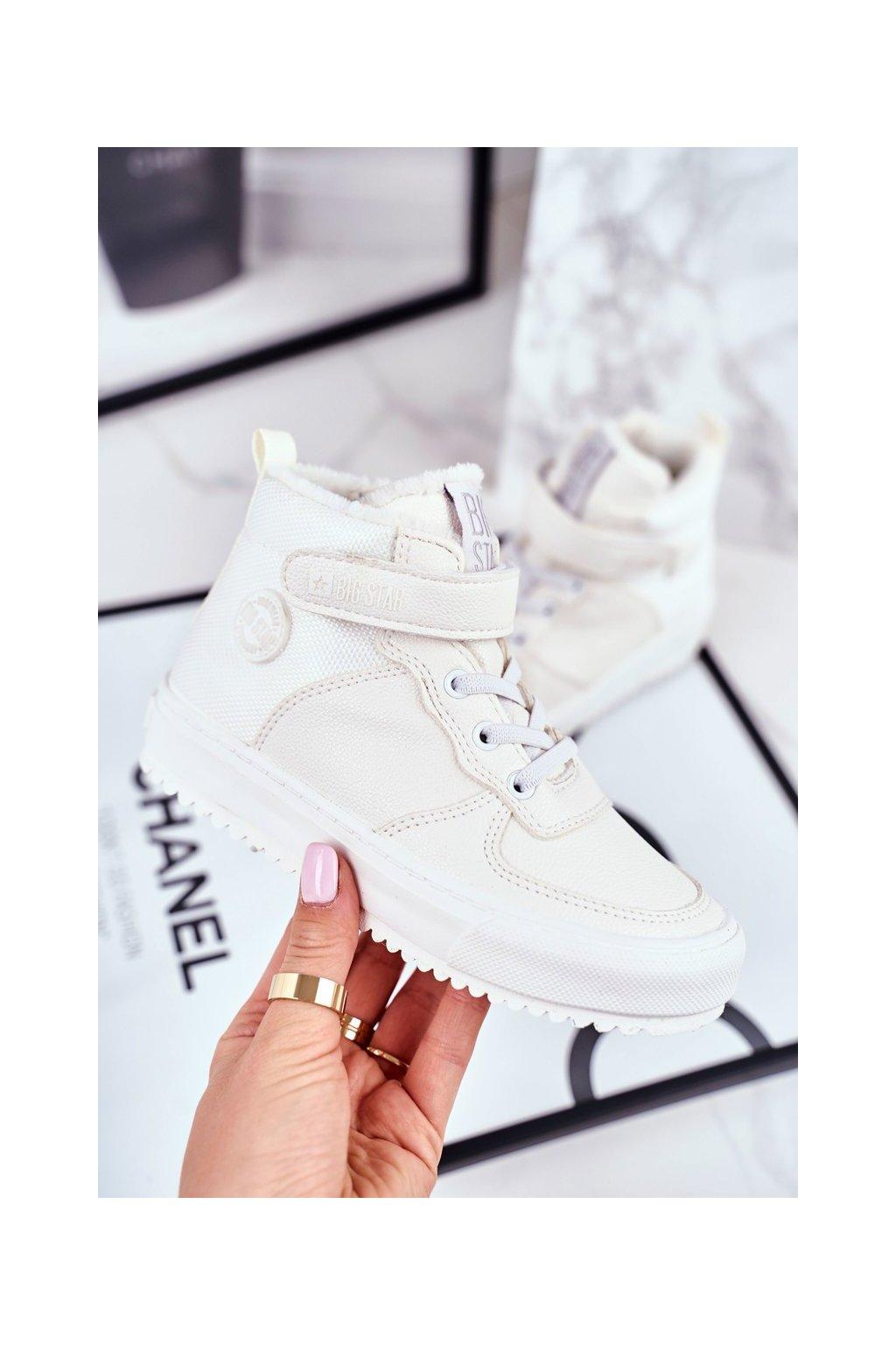 Detské tenisky farba biela kód obuvi GG374041 WHITE