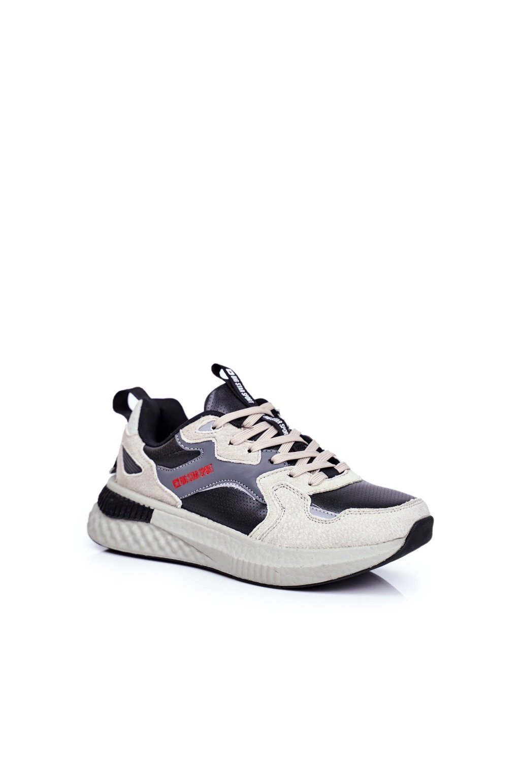 Čierna obuv kód topánok GG174464 BLK/GREY