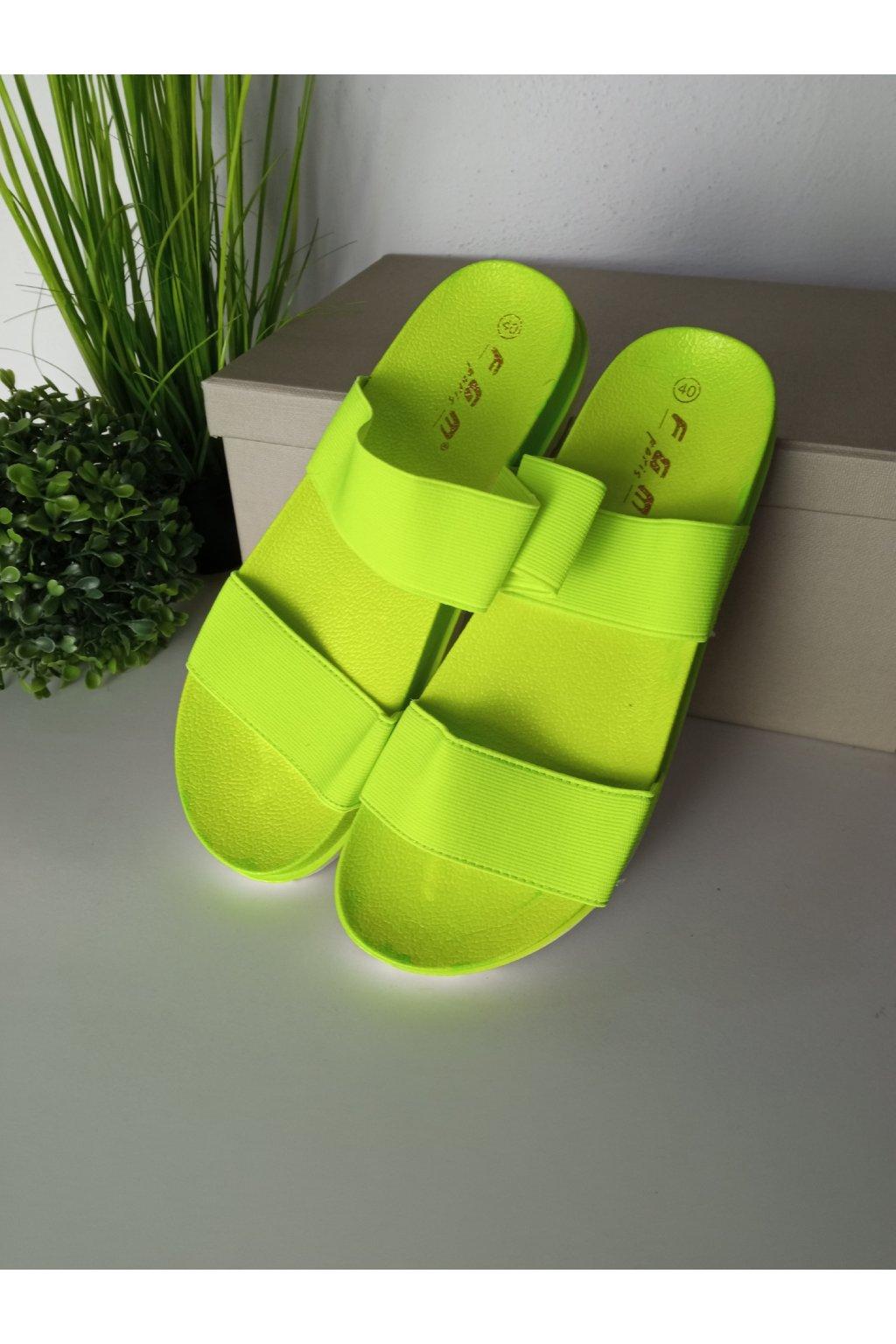 Zelené sandále NJSK JS-5274GR