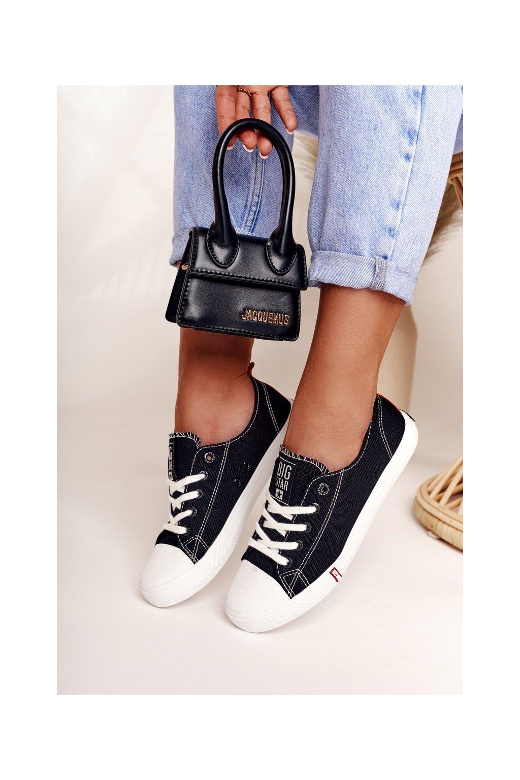 Dámske tenisky farba čierna kód obuvi FF274085 BLACK/RED