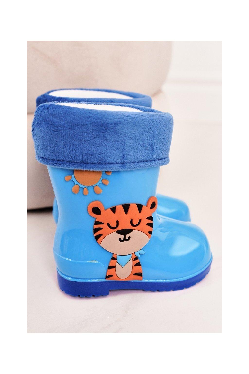 Modrá obuv kód topánok W094-1 BLUE TIGER