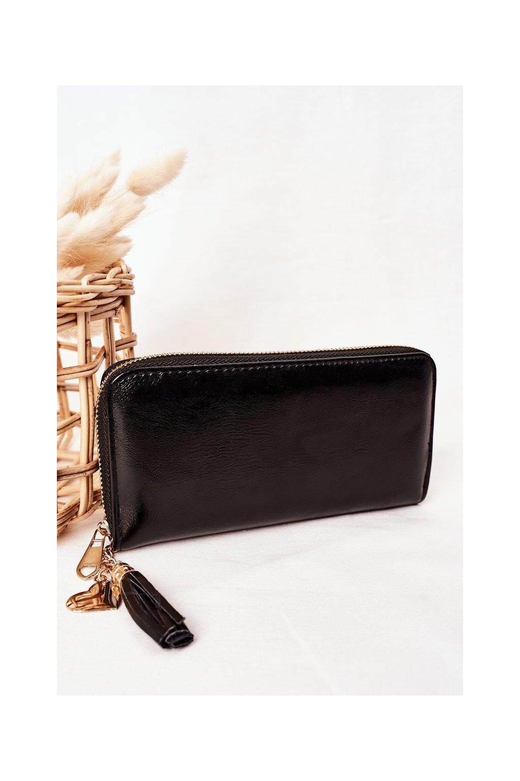 Peňaženka farba čierna kód W-126 CZARNY