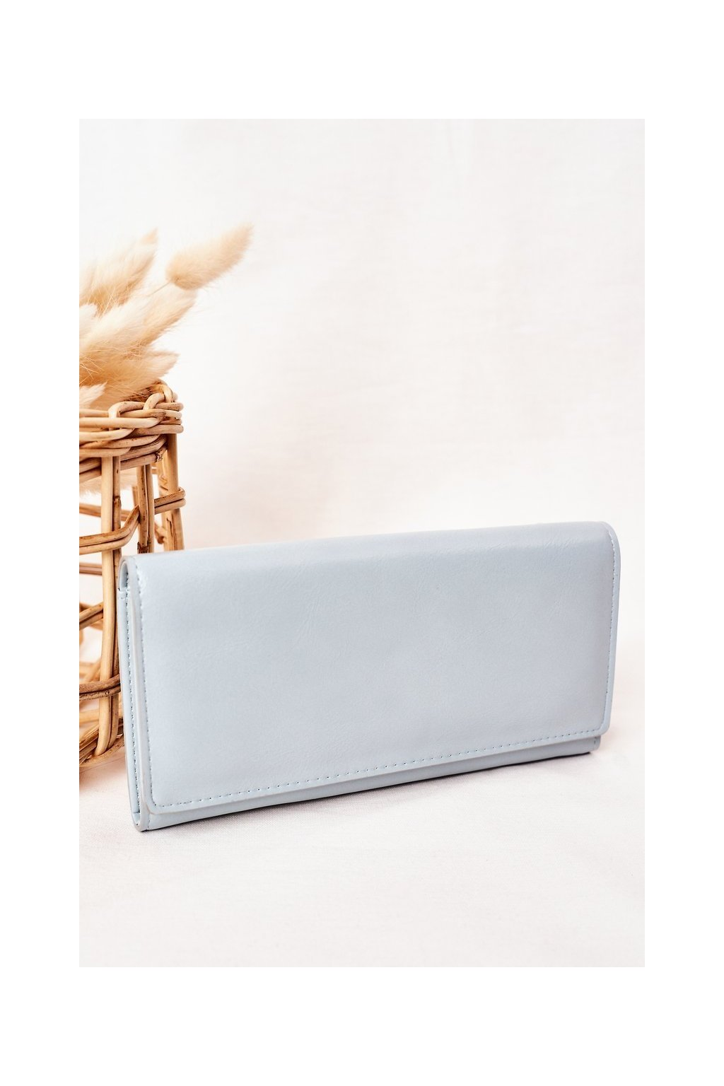 Peňaženka farba modrá kód AM-130 BŁĘKITNY