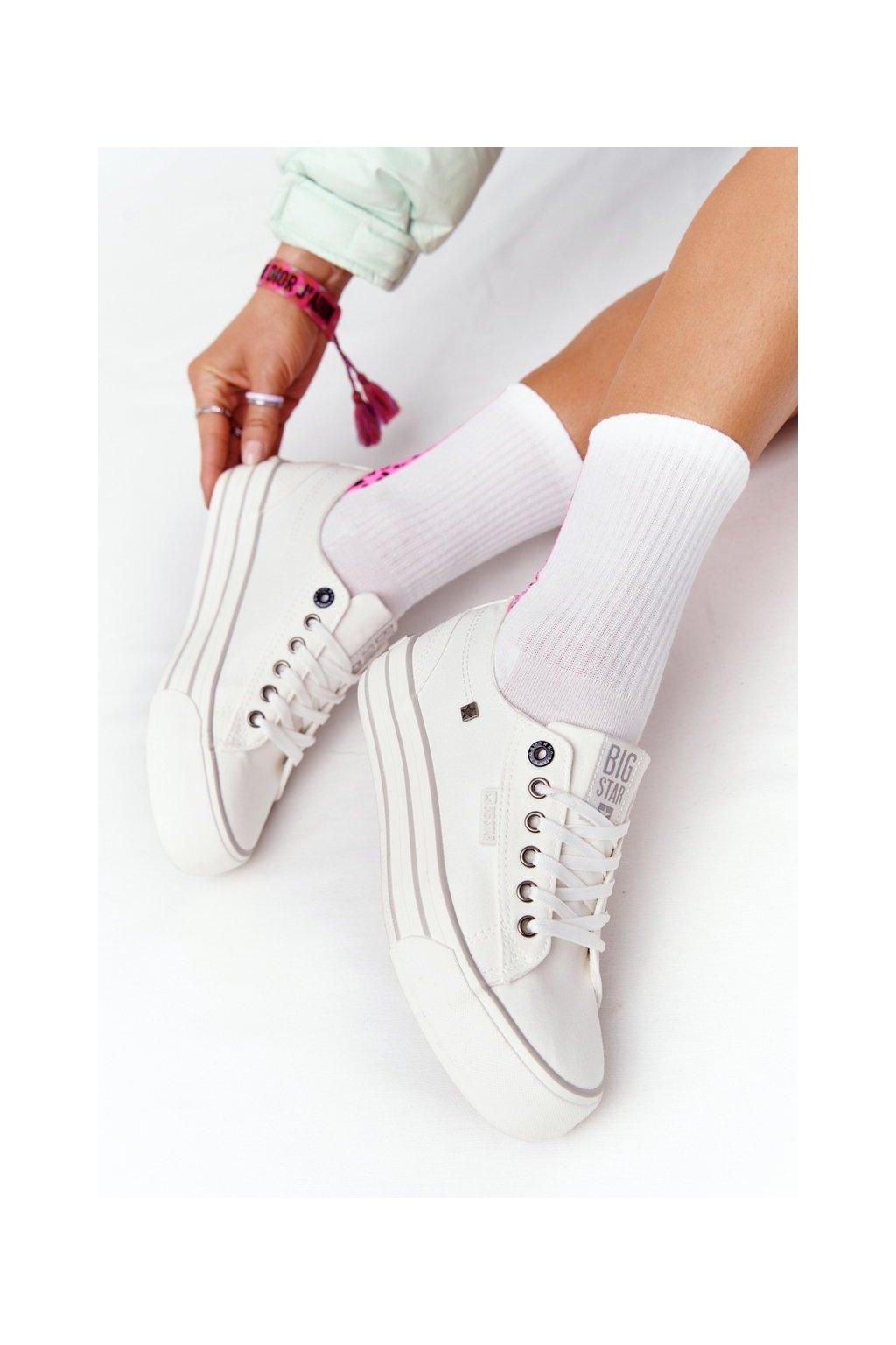 Dámske tenisky farba biela kód obuvi HH274052 WHITE