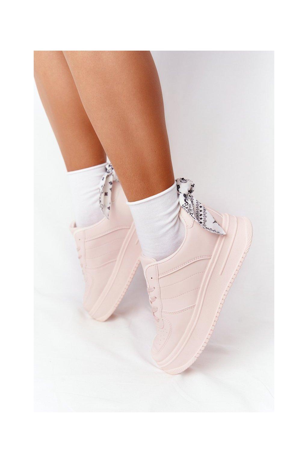 Dámske tenisky farba ružová kód obuvi G191 PINK