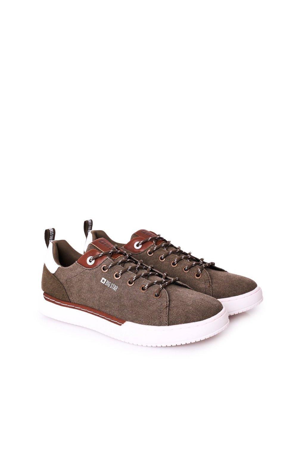 Zelená obuv kód topánok HH174160 KHAKI
