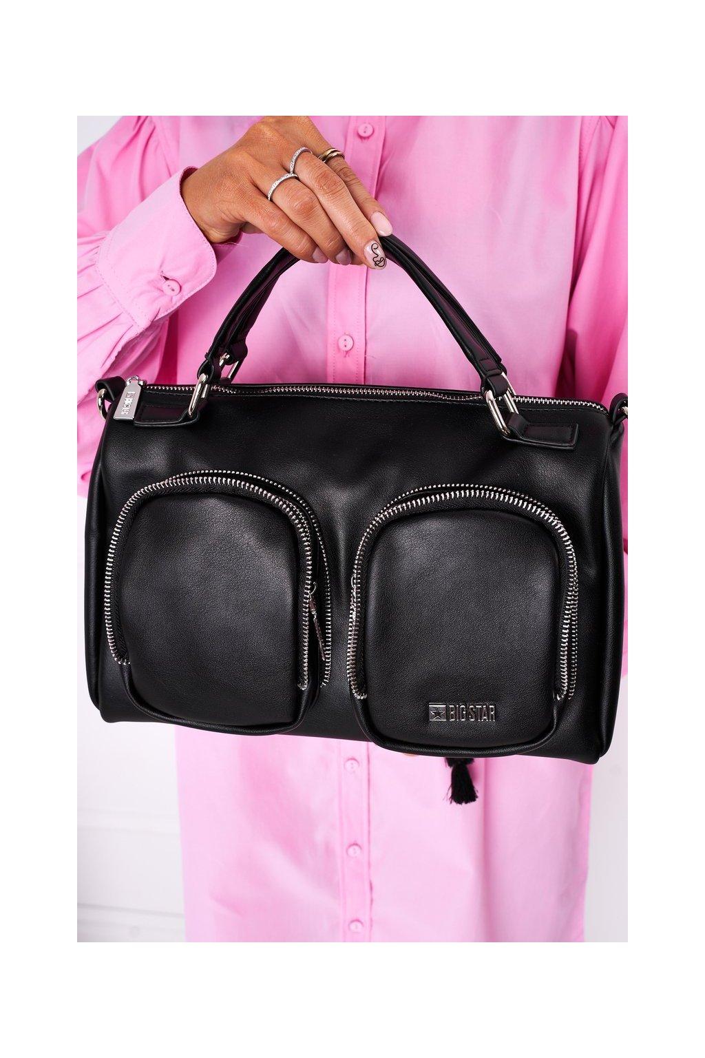 Dámska kabelka čierna kód kabelky HH574145 BLK