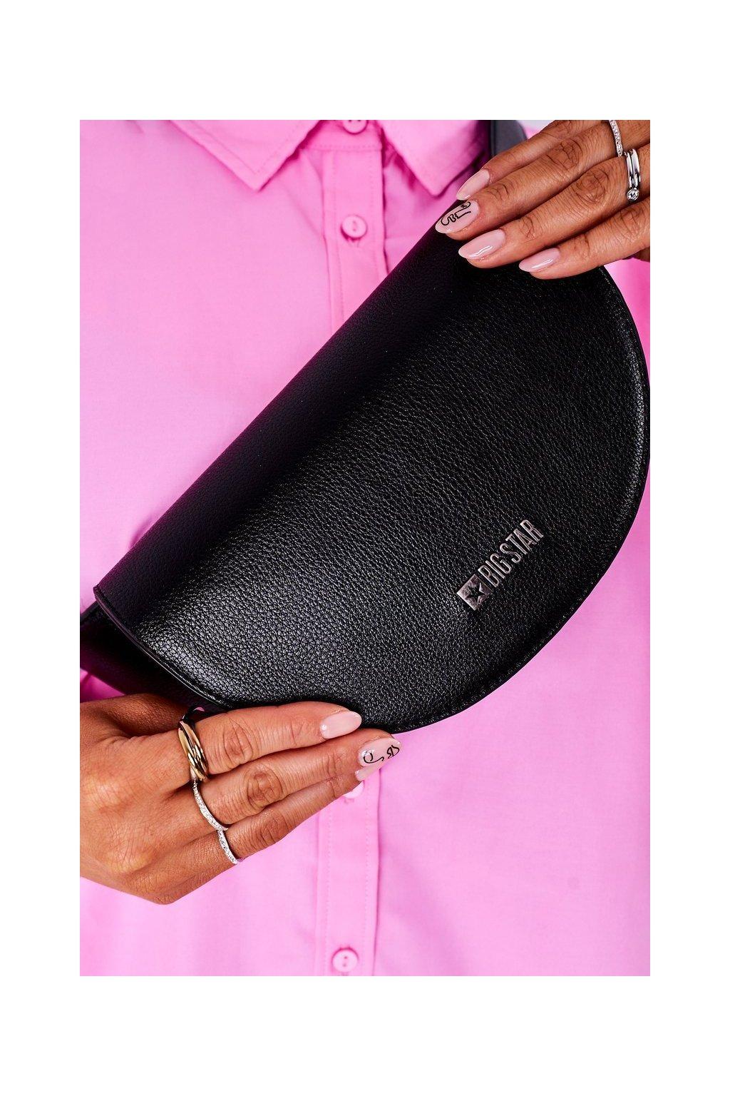 Dámska kabelka čierna kód kabelky HH574075 BLK