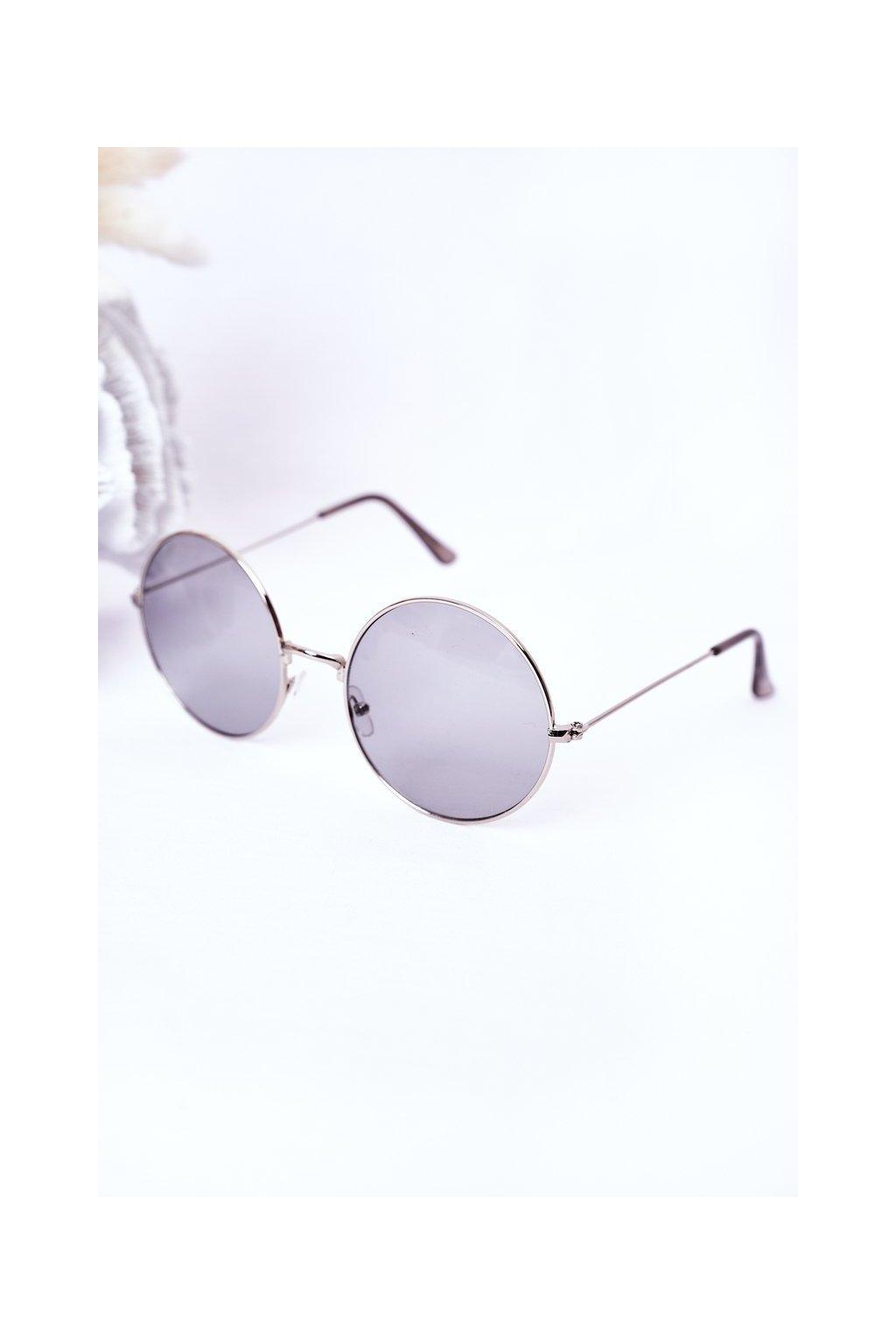 Módne slnečné okuliare LOOKS STYLE sivé VINSENT003 GREY