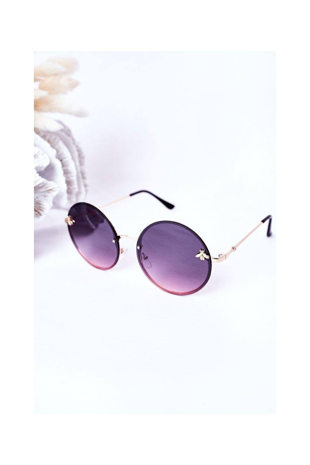 Módne slnečné okuliare ružové VINSENT VINSENT005 PINK