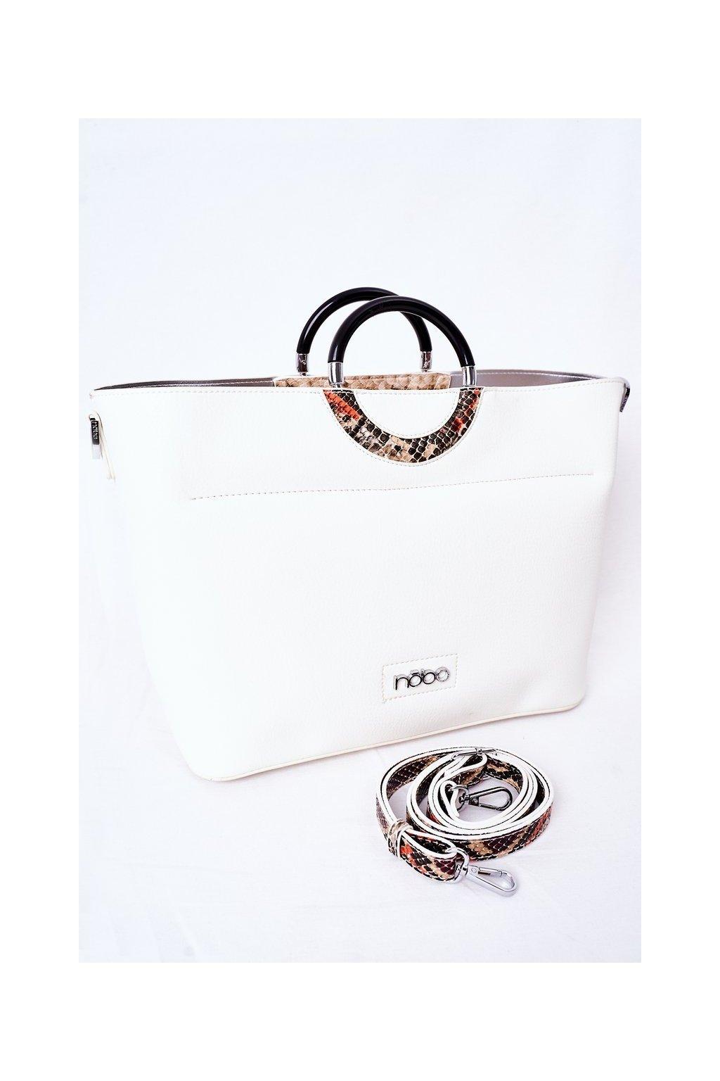 Dámska kabelka biela kód kabelky NBAG-K3520-C000 WHITE
