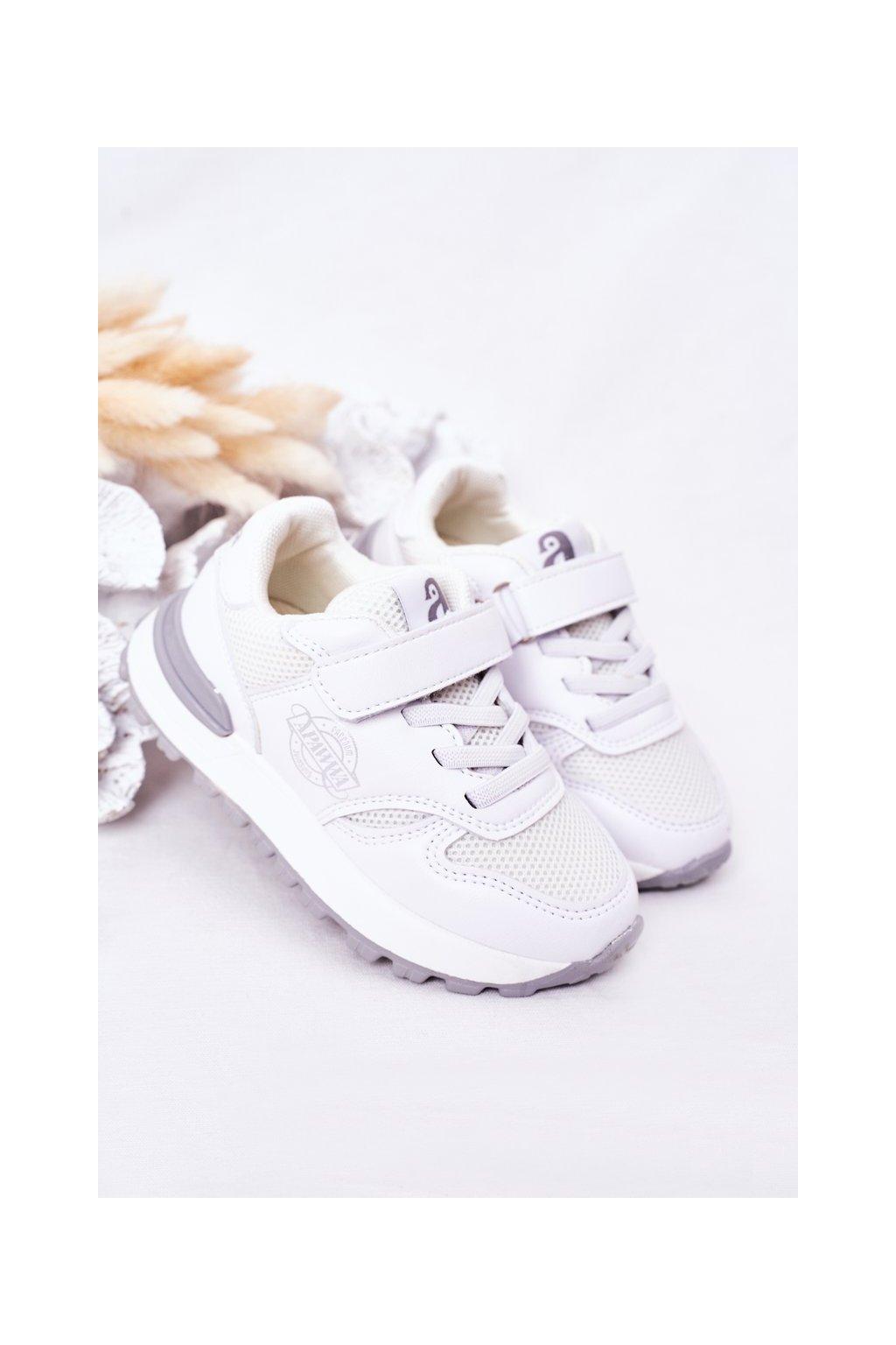 Detské tenisky farba biela kód obuvi GC23 WHITE