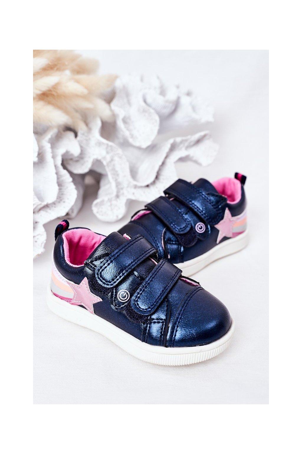 Detské tenisky farba viacfarebná kód obuvi 21DZ23-3904 NAVY