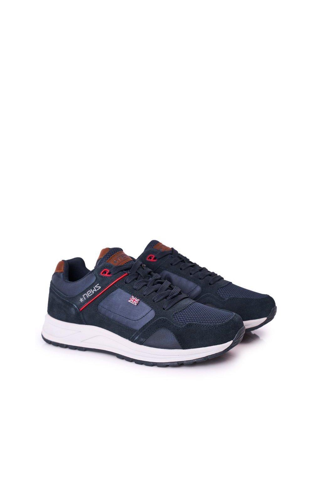 Modrá obuv kód topánok 20MN20-3311 NAVY
