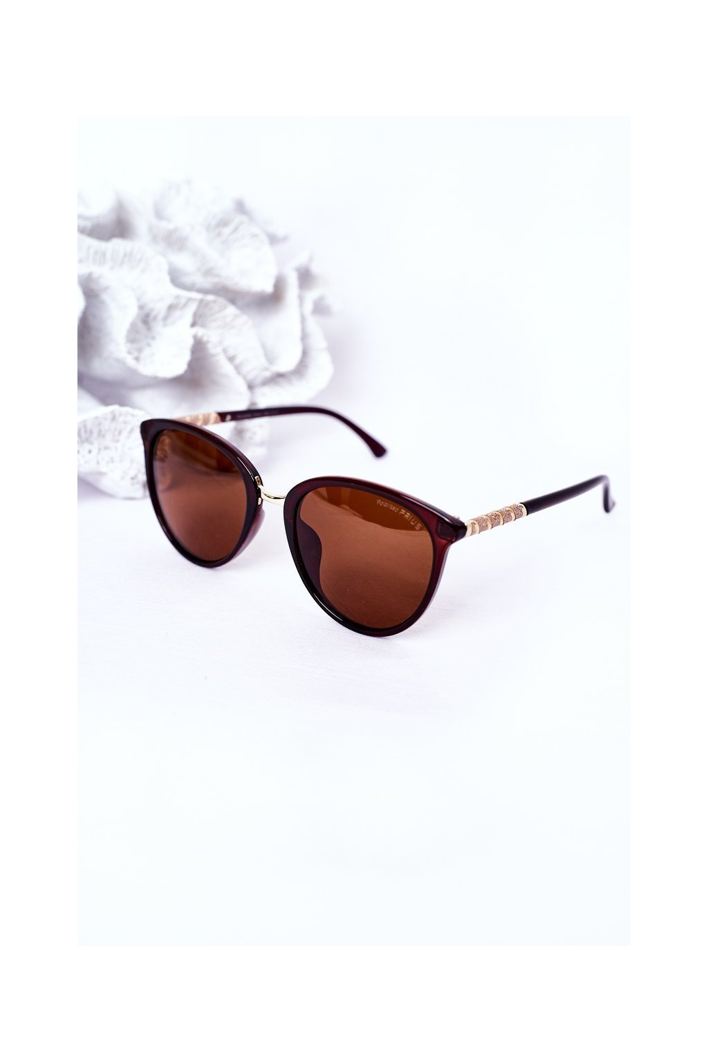 Módne slnečné okuliare hendé Polarized PRIUS PRIUS002 BROWN