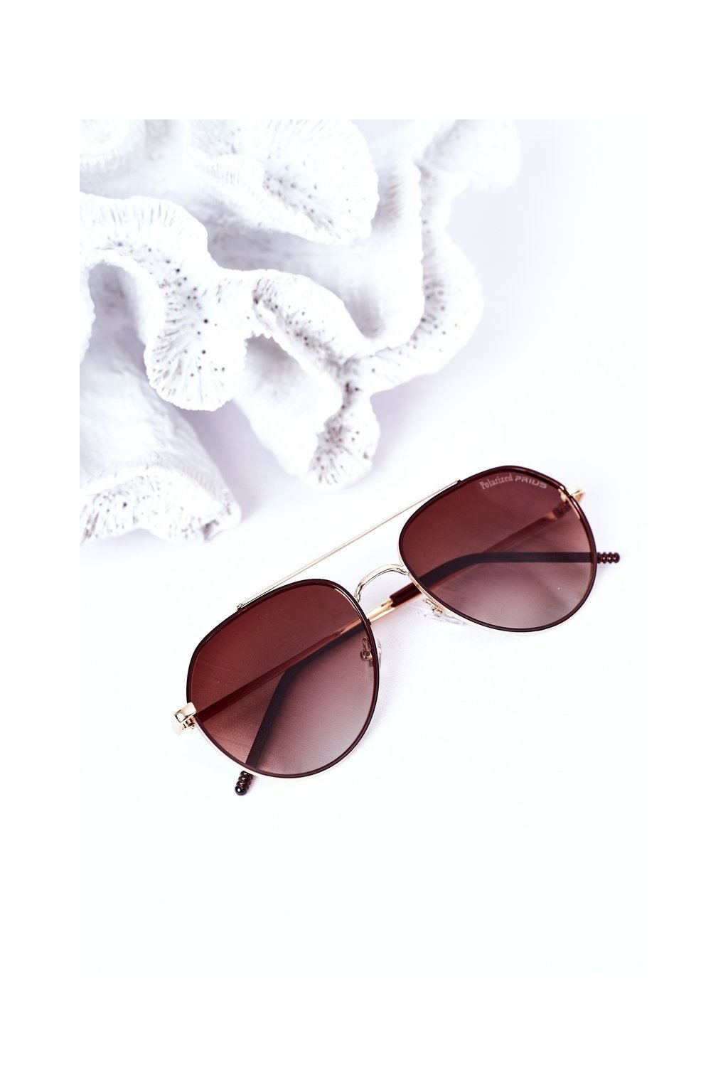 Módne slnečné okuliare hendé Polarized PRIUS PRIUS003 BROWN