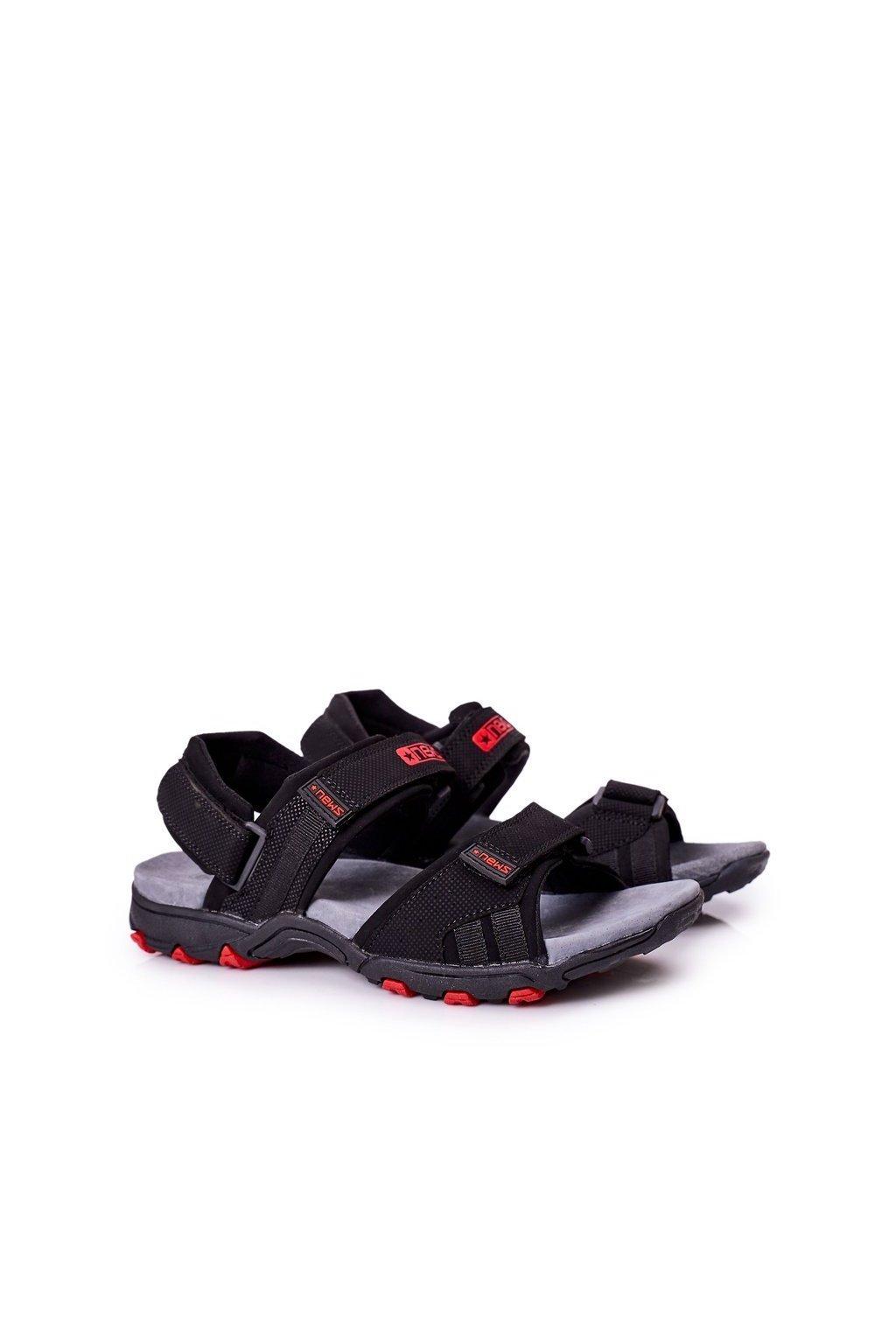 Čierna obuv kód topánok 20MN55-2310 BLACK