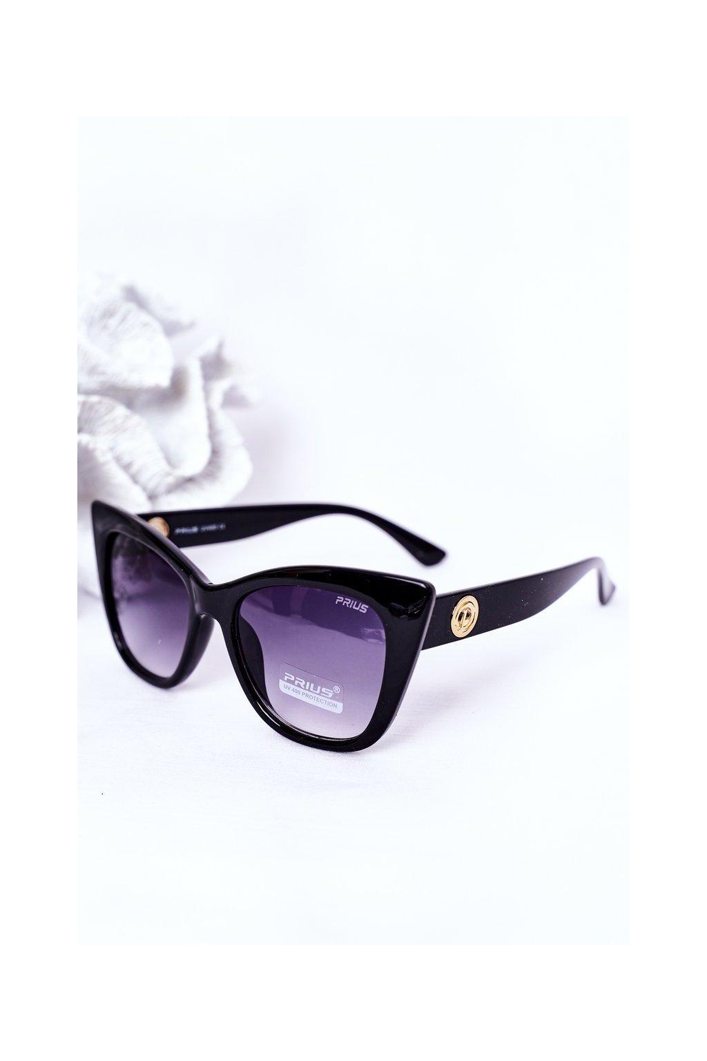 Slnečné okuliare PRIUS Eyewear čierne PRIUS008 BLACK