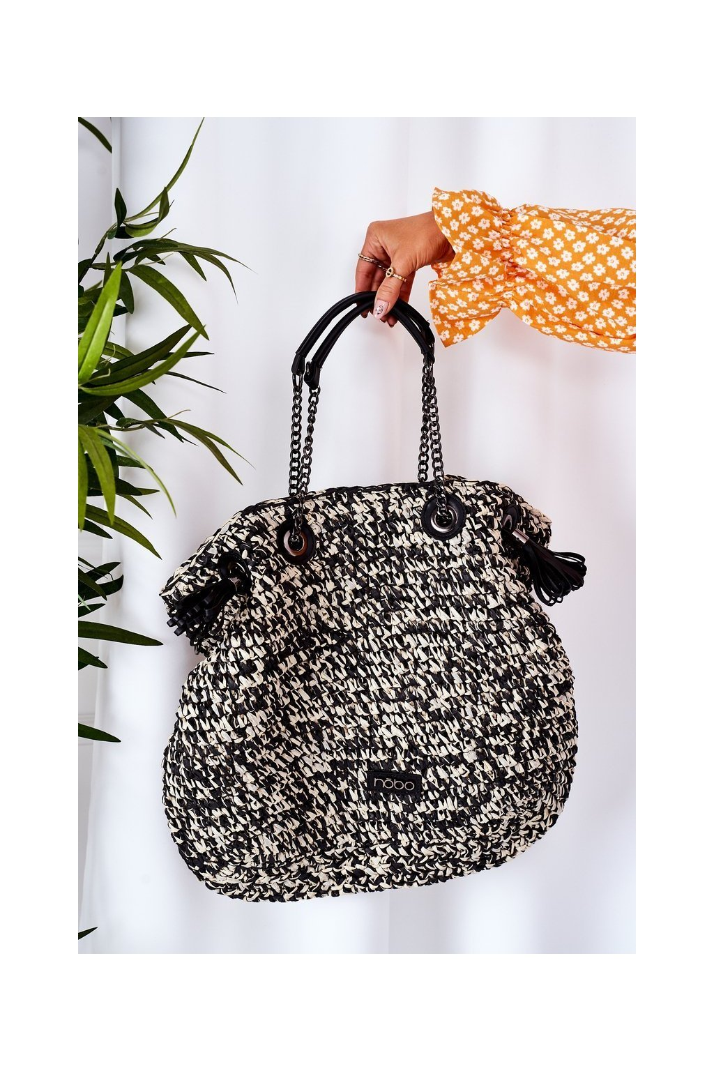 Dámska kabelka hnedá kód kabelky NBAG XG0010 CM20