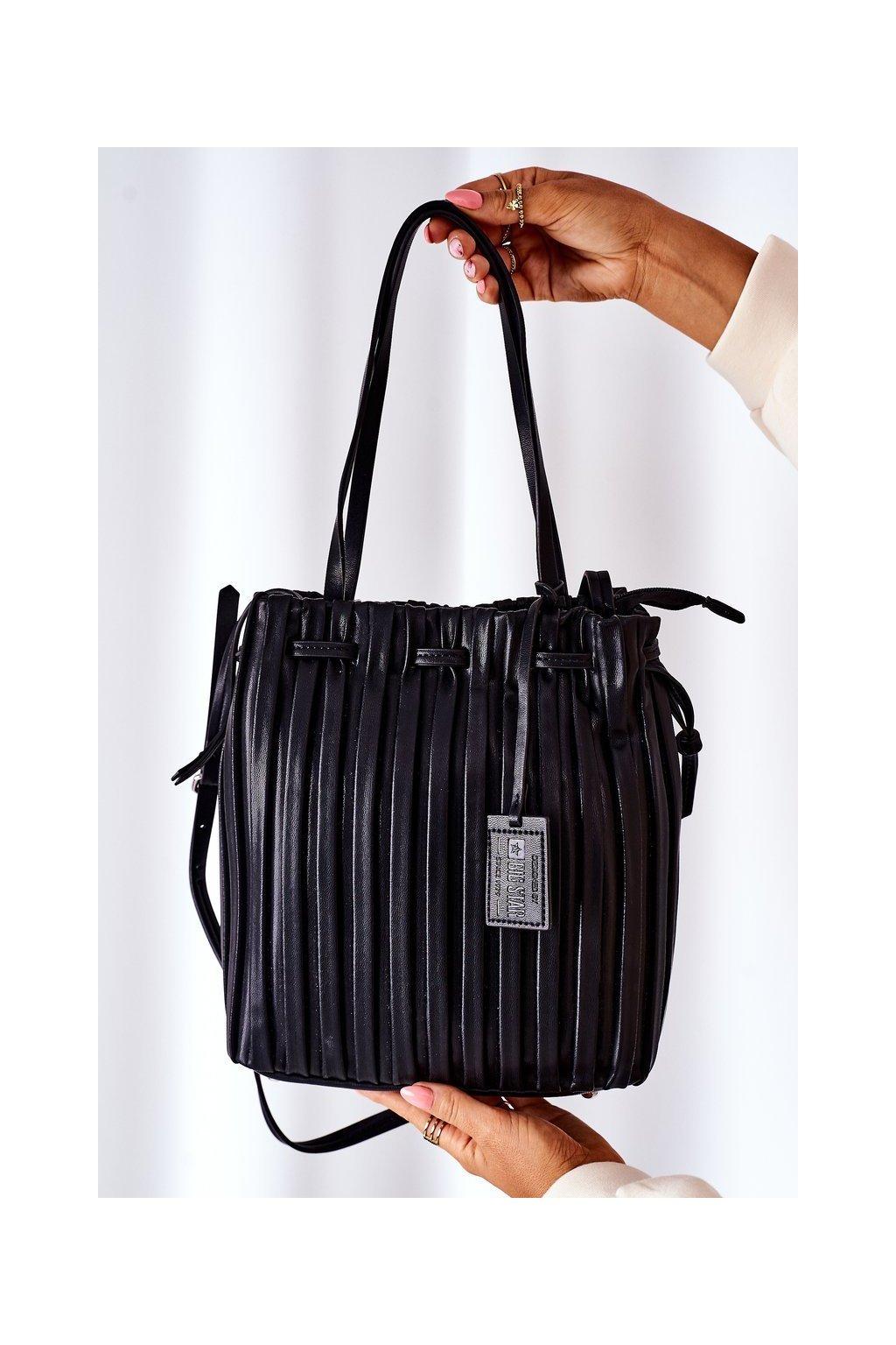 Dámska kabelka čierna kód kabelky HH574257 BLK