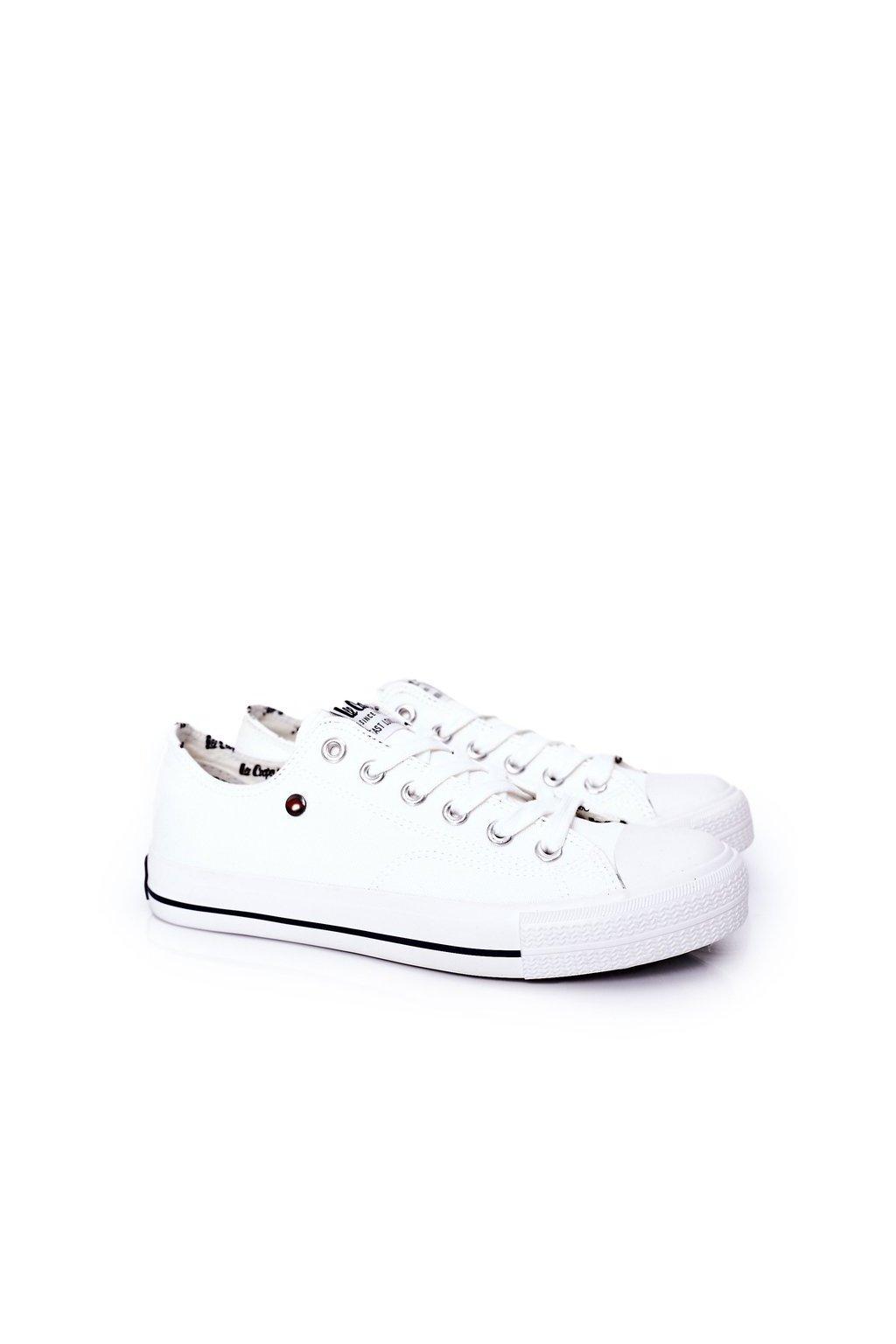 Biela obuv kód topánok LCW-21-31-0315M White