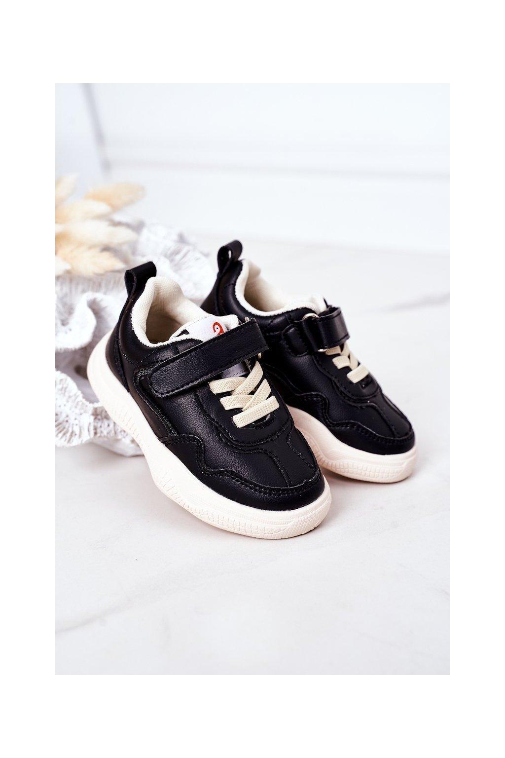 Detské tenisky farba čierna kód obuvi X11 BLACK