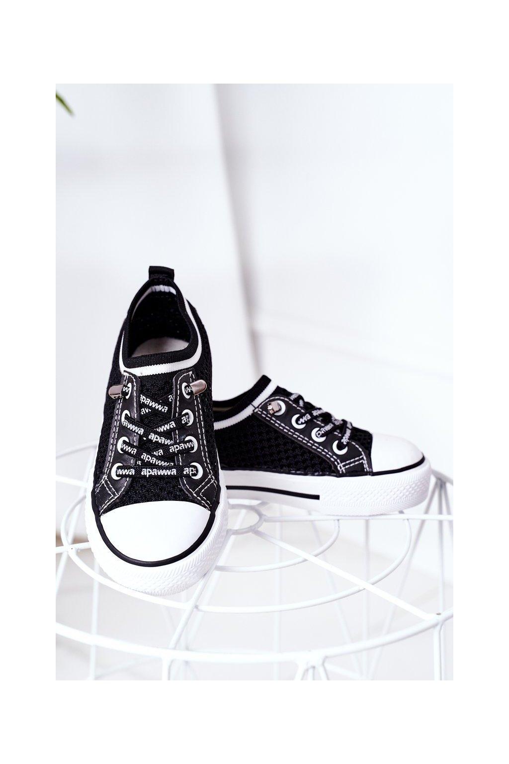 Detské tenisky farba čierna kód obuvi XC238 XC239 XC240 BLACK