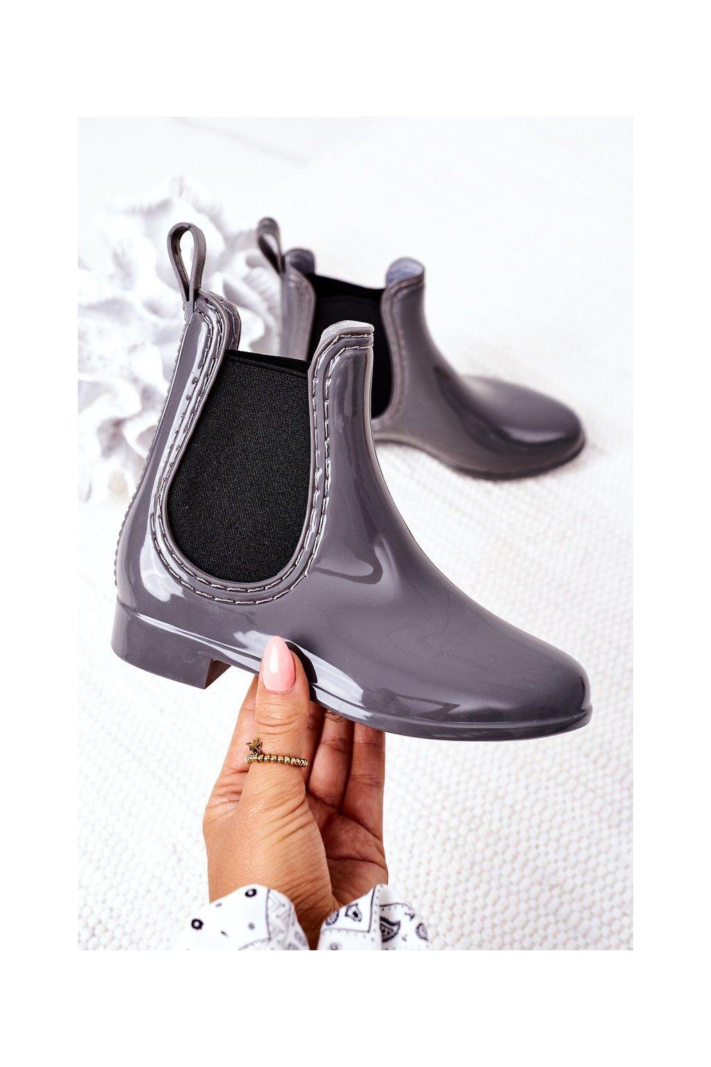 Sivá obuv kód topánok HMY-16 GREY