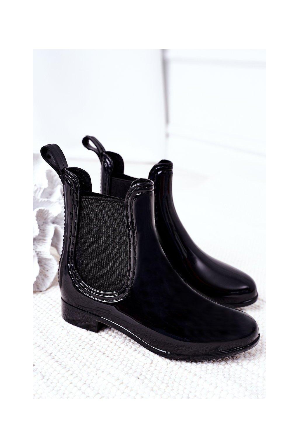 Čierna obuv kód topánok HMY-16 BLACK