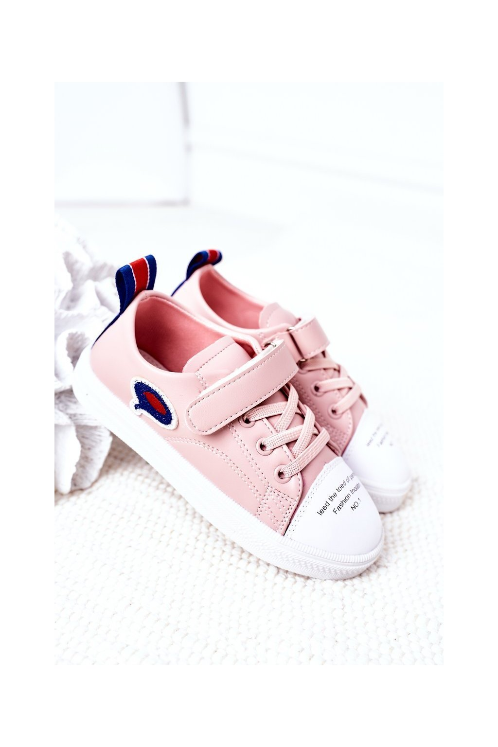 Detské tenisky farba ružová kód obuvi C32-1 PINK