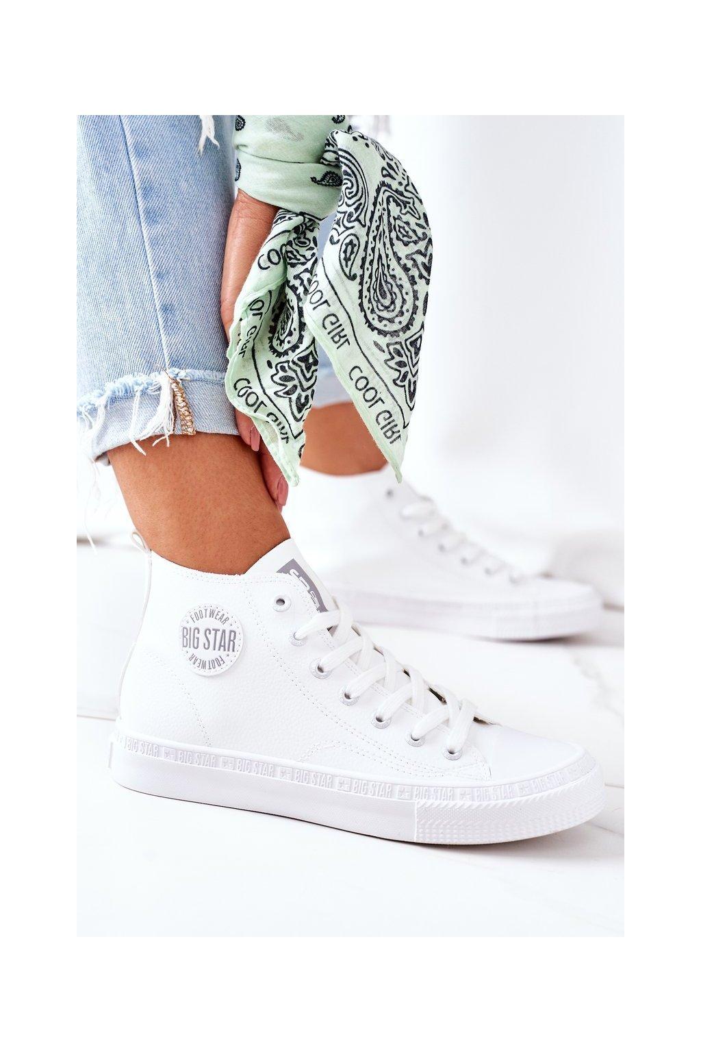 Dámske tenisky farba biela kód obuvi GG274016 WHITE