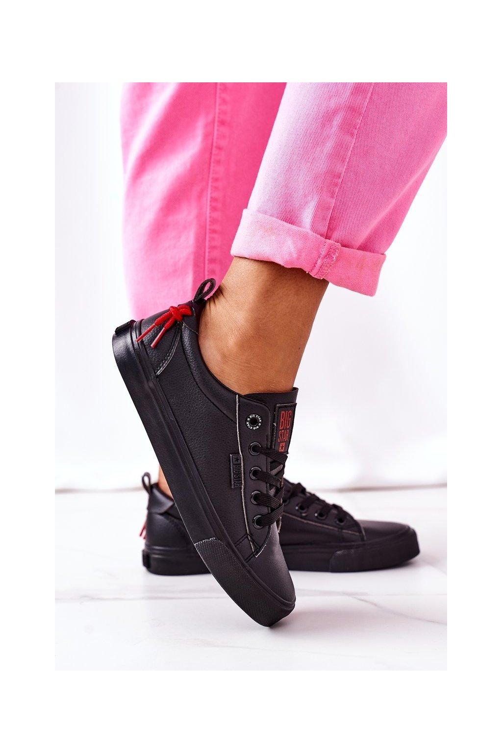 Dámske tenisky farba čierna kód obuvi GG274161 BLACK