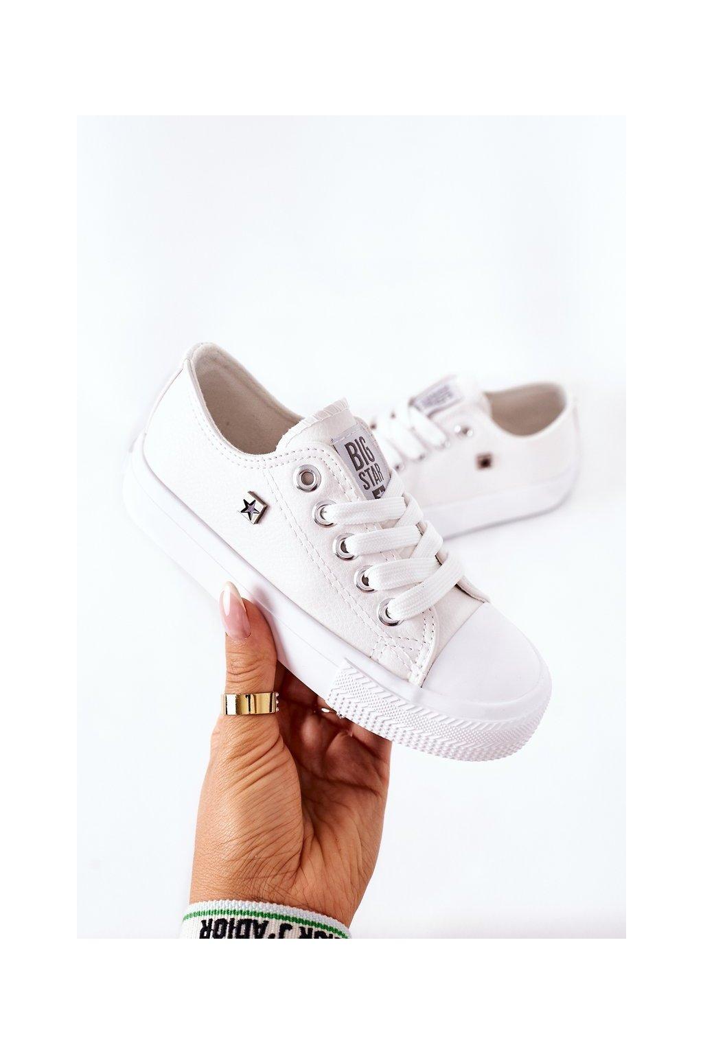 Detské tenisky farba biela kód obuvi FF374300 WHITE