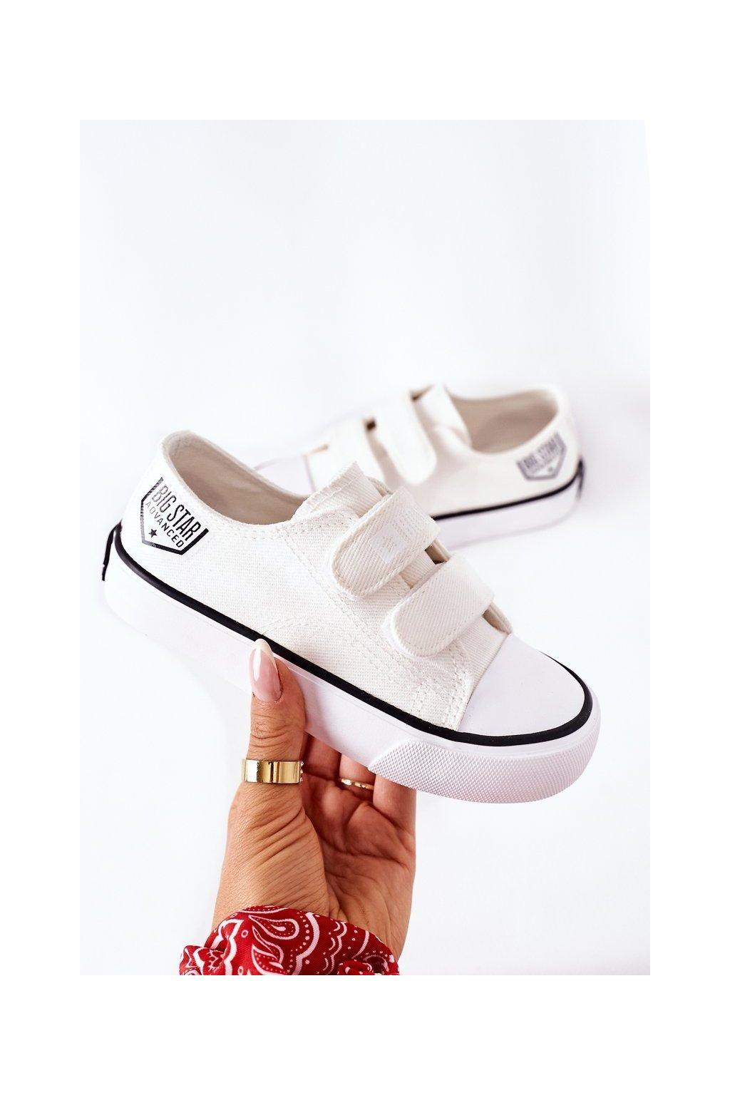 Detské tenisky farba biela kód obuvi FF374061 WHITE