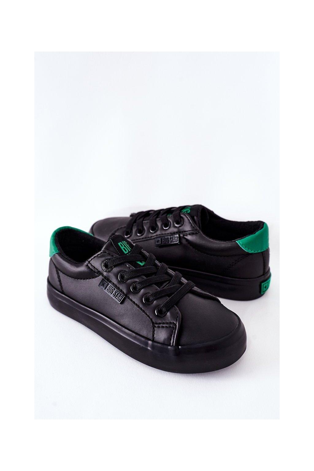 Detské tenisky farba čierna kód obuvi DD374147 BLACK