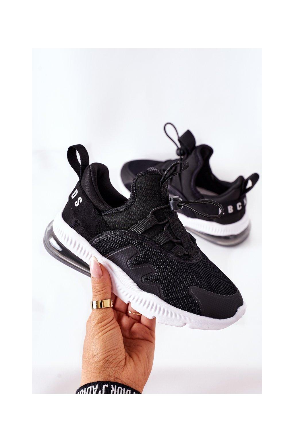 Detské tenisky farba čierna kód obuvi B012302201 BLACK
