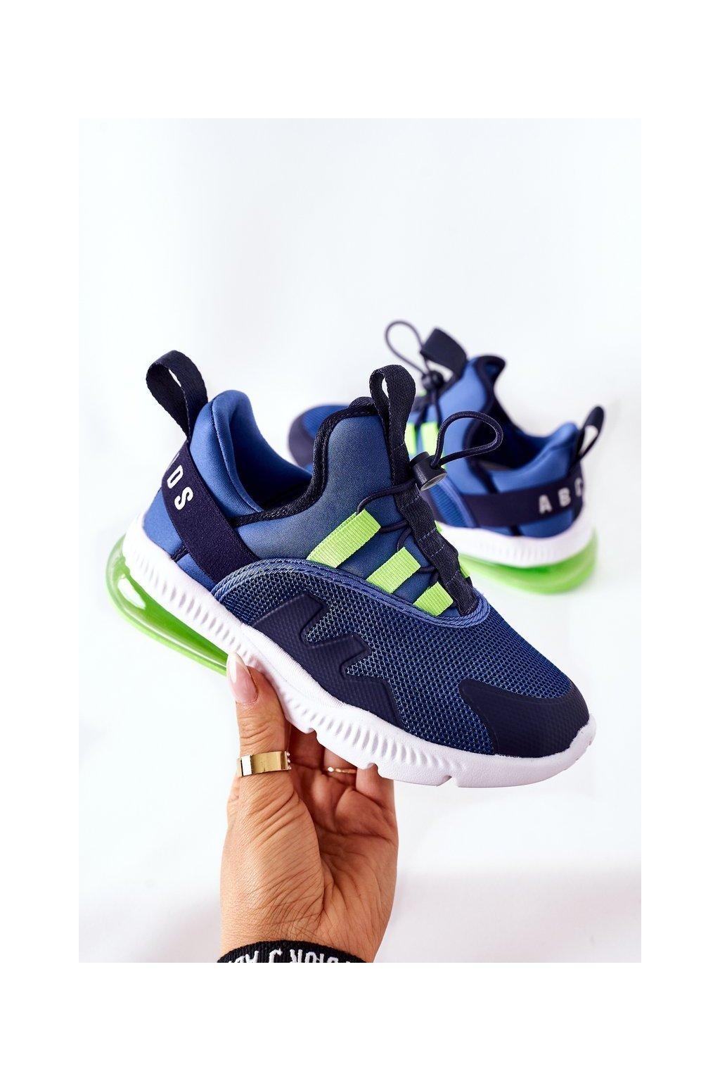 Detské tenisky farba modrá kód obuvi B012302201 ROYALBLUE