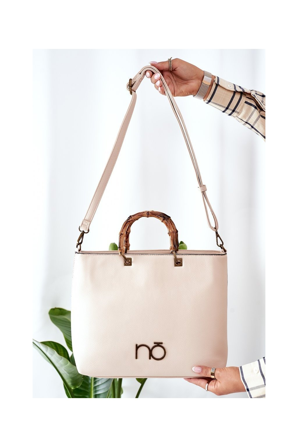 Dámska kabelka hnedá kód kabelky NBAG-L1560-CM00 KREMOWY